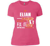 If Elian Can't Fix It We're All Screwed T Shirts-New Wave Tee