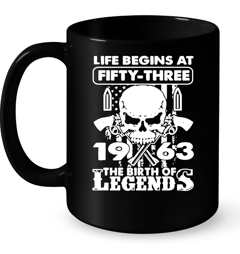 1963 The Birth Of Legends T Shirts-New Wave Tee