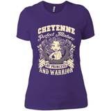 Cheyenne Perfect Mixture Of Princess And Warrior T Shirts-New Wave Tee