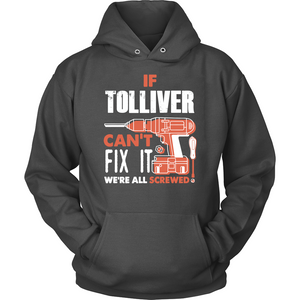 If Tolliver Can't Fix It We're All Screwed T Shirts-New Wave Tee
