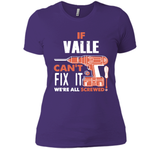 If Valle Can't Fix It We're All Screwed T Shirts-New Wave Tee