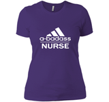 A badass Nurse T Shirts-New Wave Tee