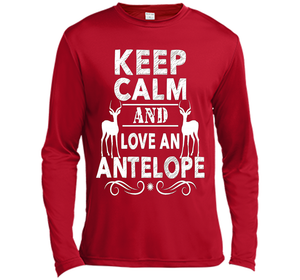 Antelope Shirt - Keep Calm And Love An Antelope Shirt-New Wave Tee