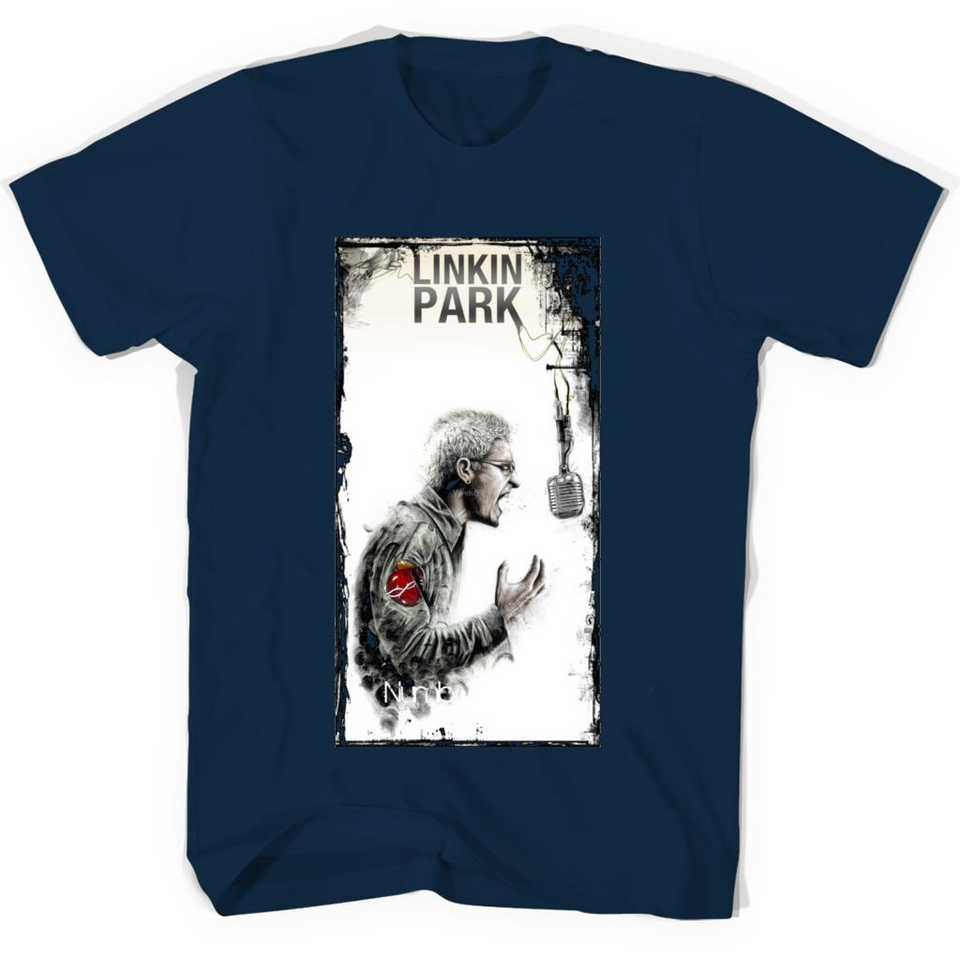 Chester Bennington Linkin Park tshirt-New Wave Tee