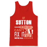 If Sutton Can't Fix It We're All Screwed T Shirts-New Wave Tee