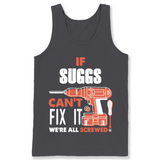 If Suggs Can't Fix It We're All Screwed T Shirts-New Wave Tee