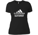 A badass Guitarist T Shirts-New Wave Tee