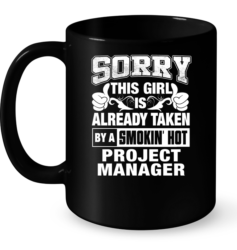 Project Manager For Girl Friend Or Wife Project Manager Couple Valentine T Shirts-New Wave Tee