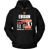 If Edison Can't Fix It We're All Screwed T Shirts-New Wave Tee