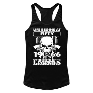 1966 The Birth Of Legends T Shirts-New Wave Tee