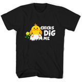 Chicks Dig Me T Shirts-New Wave Tee