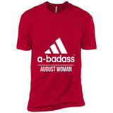 A badass August Woman T Shirts-New Wave Tee