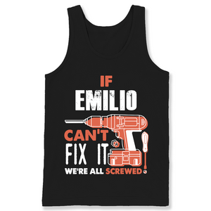 If Emilio Can't Fix It We're All Screwed T Shirts-New Wave Tee
