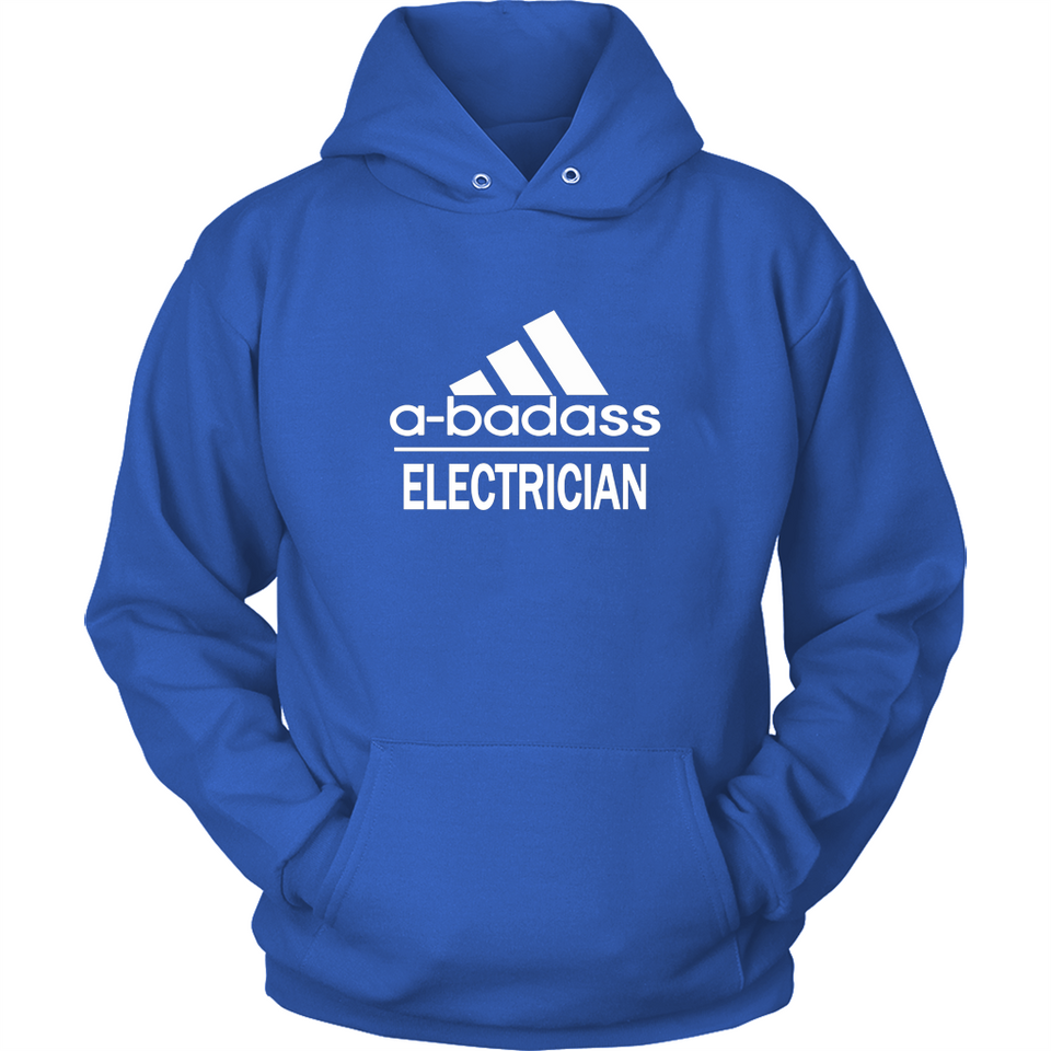 A badass Electrician T Shirts-New Wave Tee