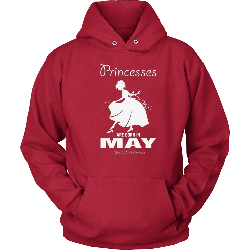 Princesses Are Born In May T Shirts-New Wave Tee