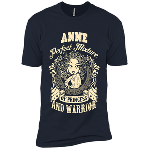 Anne Perfect Mixture Of Princess And Warrior T Shirts-New Wave Tee