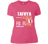 If Tafoya Can't Fix It We're All Screwed T Shirts-New Wave Tee