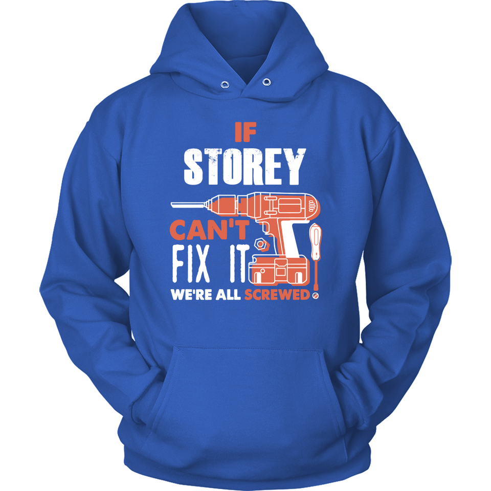 If Storey Can't Fix It We're All Screwed T Shirts-New Wave Tee