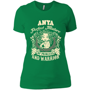 Anya Perfect Mixture Of Princess And Warrior T Shirts-New Wave Tee