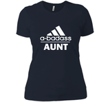 A badass Aunt T Shirts-New Wave Tee