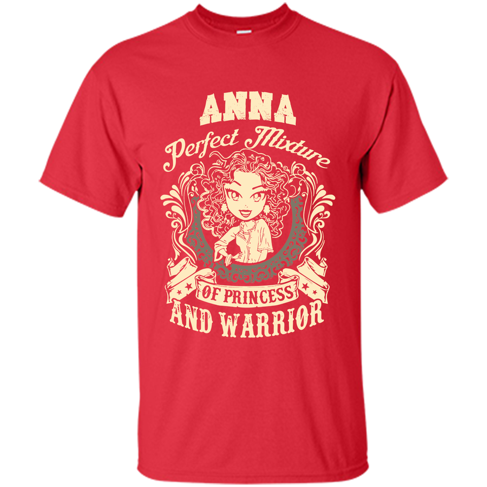 Anna Perfect Mixture Of Princess And Warrior T Shirts-New Wave Tee