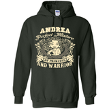 Andrea Perfect Mixture Of Princess And Warrior T Shirts-New Wave Tee