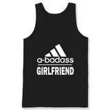 A badass Girlfriend T Shirts-New Wave Tee