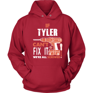 If Tyler Can't Fix It We're All Screwed T Shirts-New Wave Tee