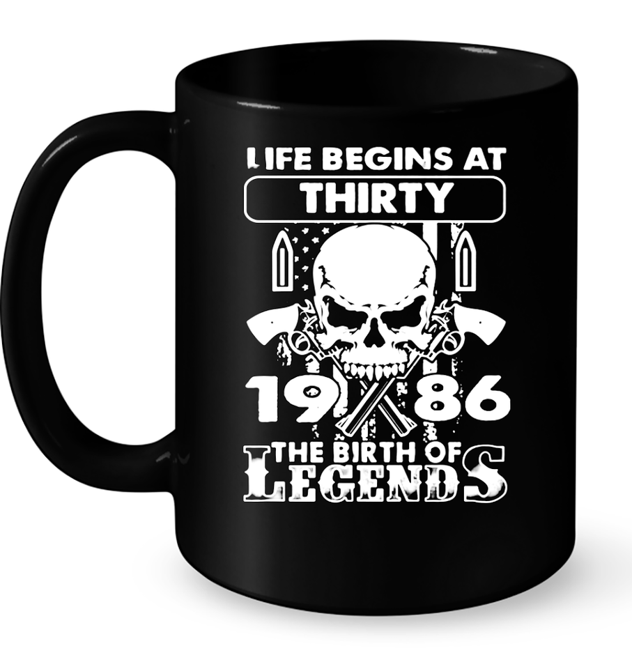 1986 The Birth Of Legends T Shirts-New Wave Tee