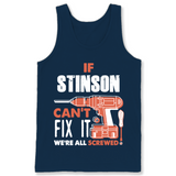 If Stinson Can't Fix It We're All Screwed T Shirts-New Wave Tee