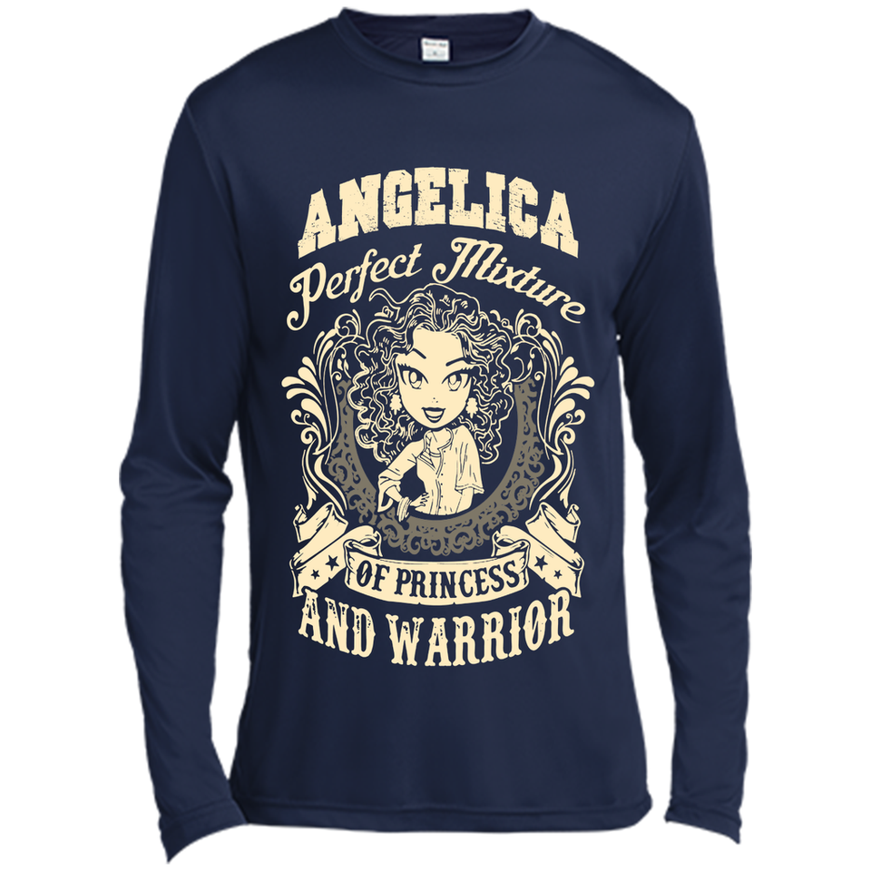 Angelica Perfect Mixture Of Princess And Warrior T Shirts-New Wave Tee