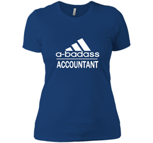 A badass Accountant T Shirts-New Wave Tee