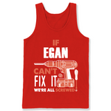 If Egan Can't Fix It We're All Screwed T Shirts-New Wave Tee