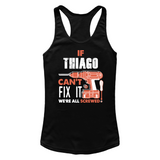If Thiago Can't Fix It We're All Screwed T Shirts-New Wave Tee