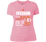 If Iverson Can't Fix It We're All Screwed T Shirts-New Wave Tee