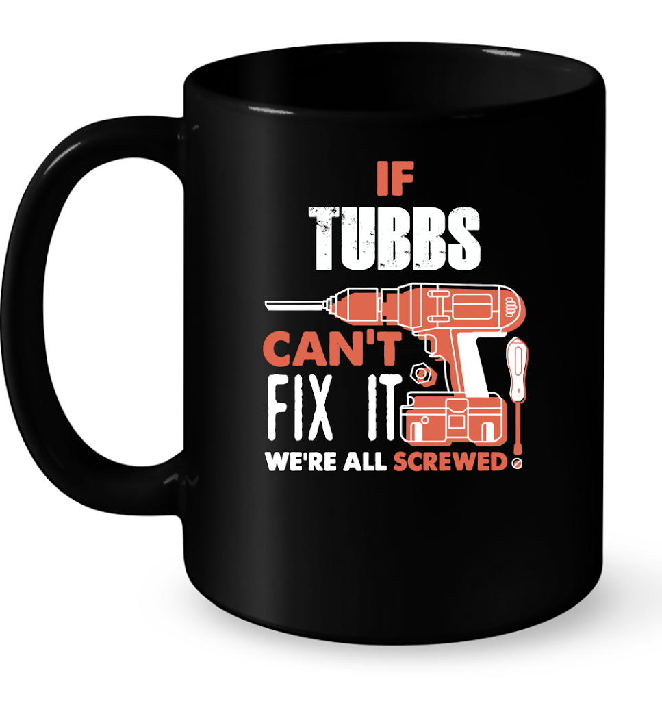 If Tubbs Can't Fix It We're All Screwed T Shirts-New Wave Tee