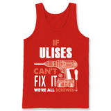 If Ulises Can't Fix It We're All Screwed T Shirts-New Wave Tee