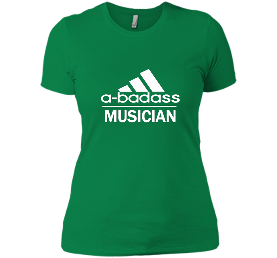 A badass Musician T Shirts-New Wave Tee