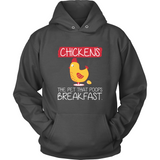 Chickens The Pet That Poops Breakfast T Shirts-New Wave Tee