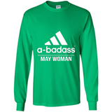 A badass May Woman T Shirts-New Wave Tee