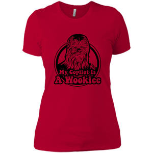 Wookiee Copilot Star Wars T Shirts