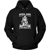 April Girl Perfect Mixture Of Princess And Warrior T Shirts-New Wave Tee
