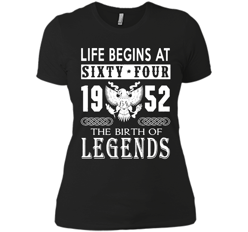1952 The Birth Of Legends T Shirts-New Wave Tee