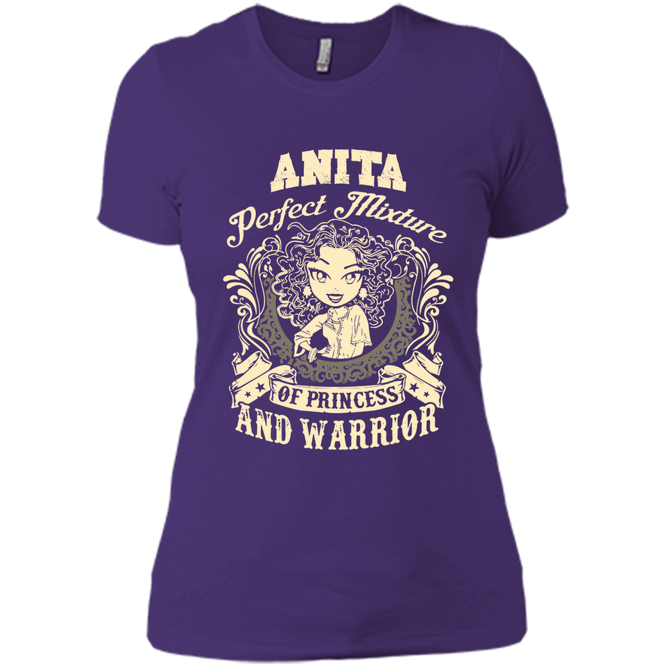 Anita Perfect Mixture Of Princess And Warrior T Shirts-New Wave Tee