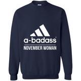 A badass November Woman T Shirts-New Wave Tee