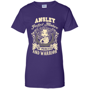 Ansley Perfect Mixture Of Princess And Warrior T Shirts-New Wave Tee