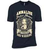 Annalise Perfect Mixture Of Princess And Warrior T Shirts-New Wave Tee