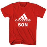 A badass Son T Shirts-New Wave Tee