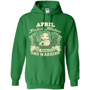 April Perfect Mixture Of Princess And Warrior T Shirts-New Wave Tee
