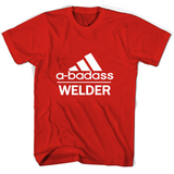 A badass Welder T Shirts-New Wave Tee